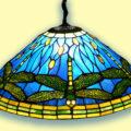 Светильники и люстры в стиле Тиффани
