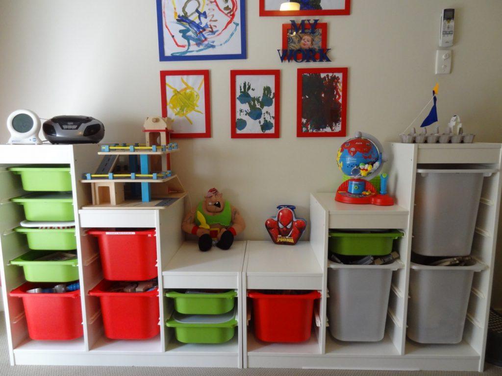 Современные системы хранения детских игрушек