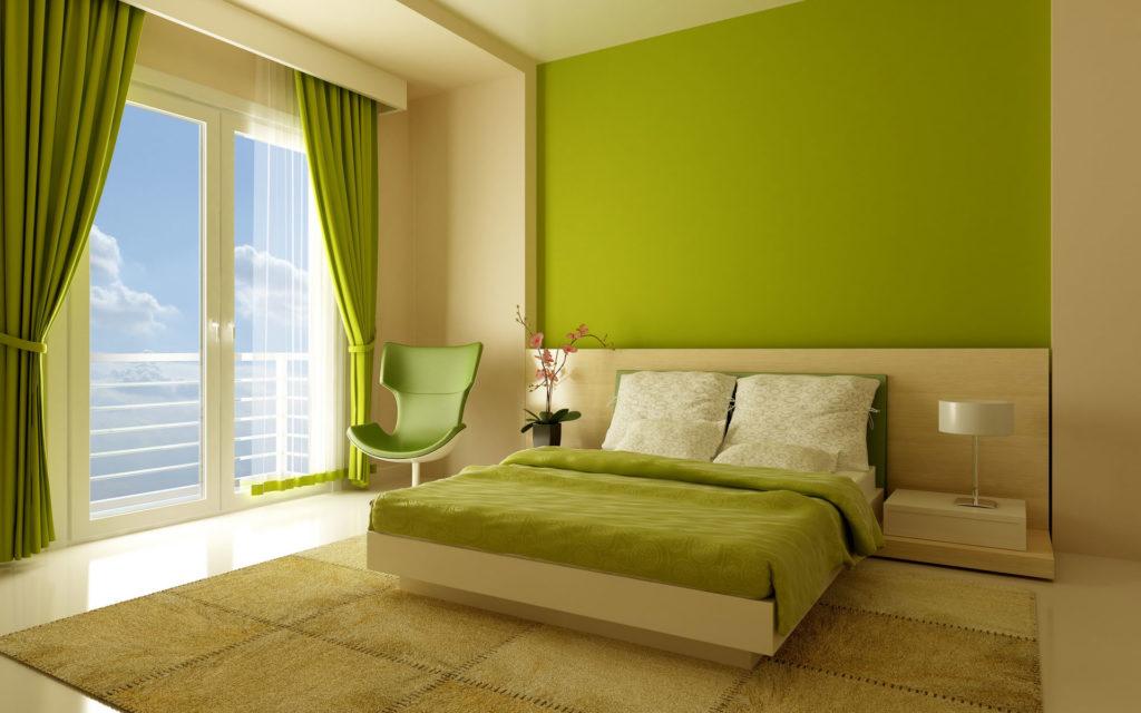 Как выбрать долговечную краску для спальни