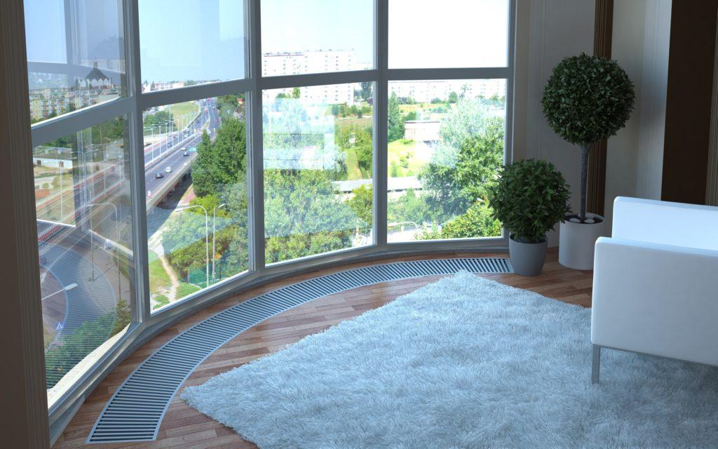 Обставляем балкон с панорамными окнами