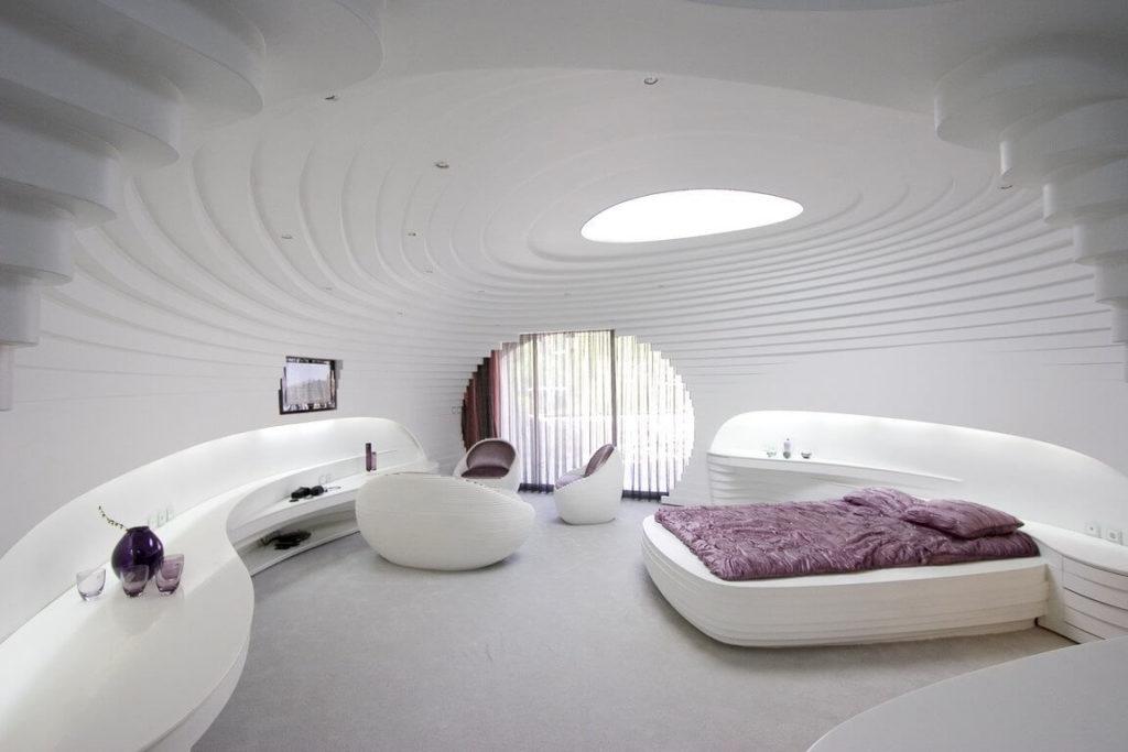 Футуристический дизайн квартиры
