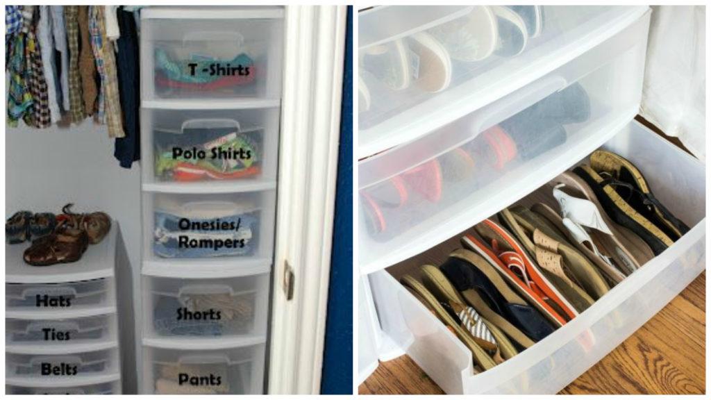 Наводим порядок в шкафу