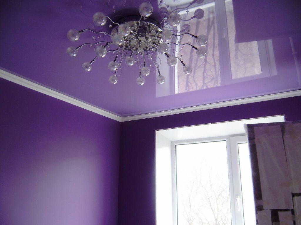 Выбираем цвет потолка
