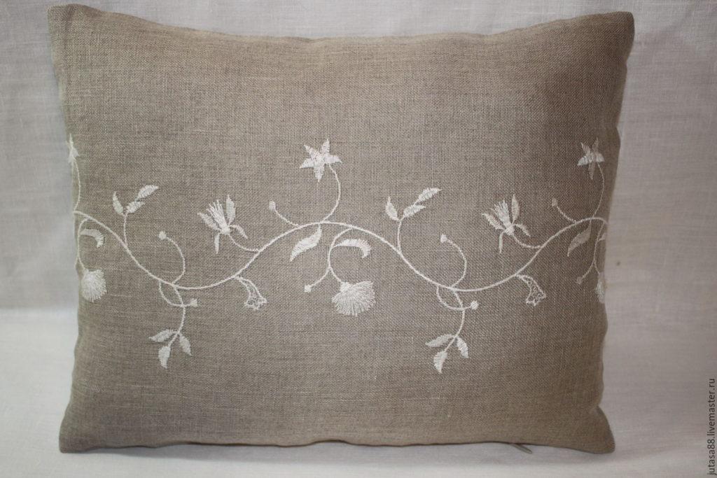 Текстиль из льняных тканей в доме
