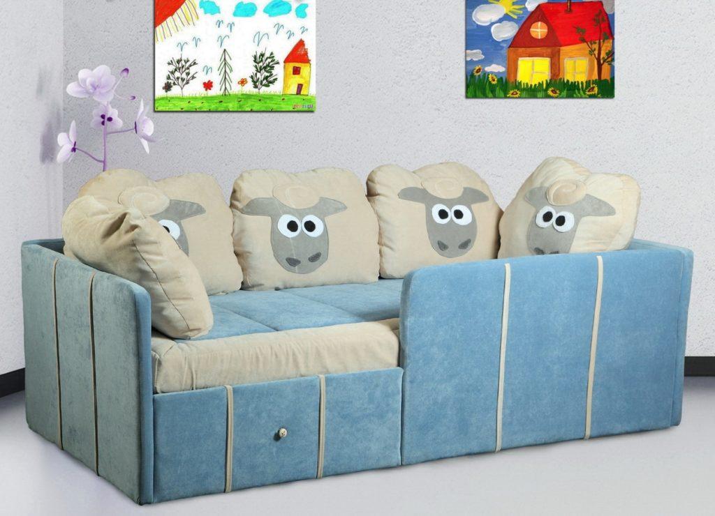 Как выбрать диван в детскую комнату