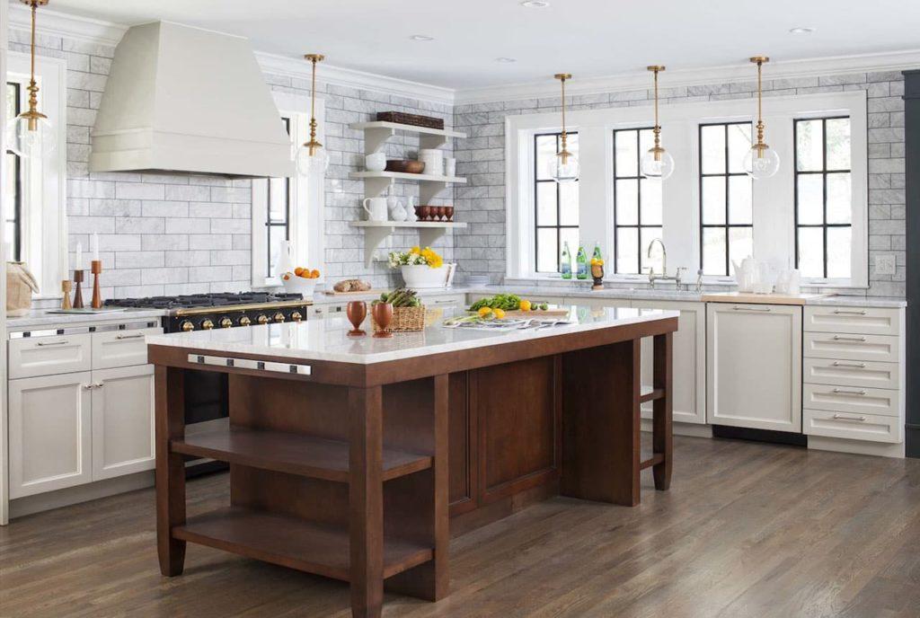 Кухня-столовая - стильно и удобно
