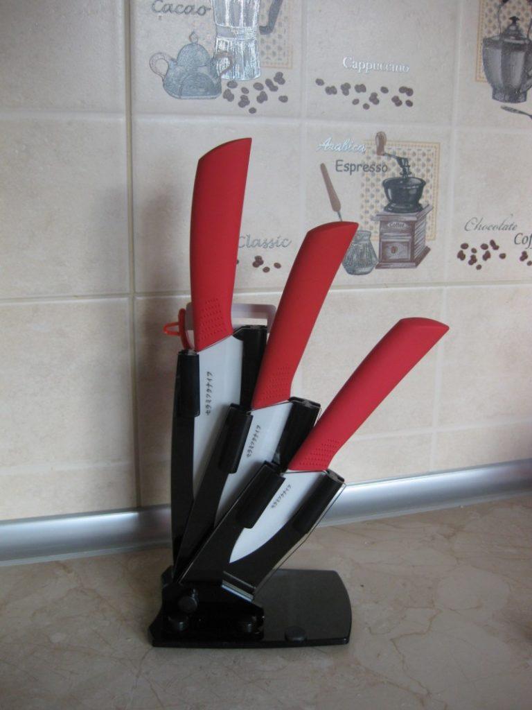 Преимущества ножей из керамики