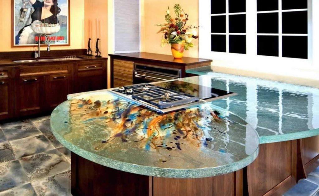 Столешницы на кухню - виды материалов и их особенности