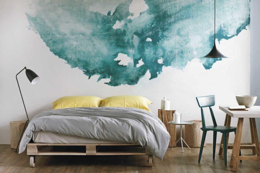 Ручная роспись стен - идеи для отделки своими руками