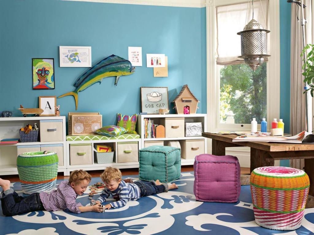 Как организовать игровую зону в детской