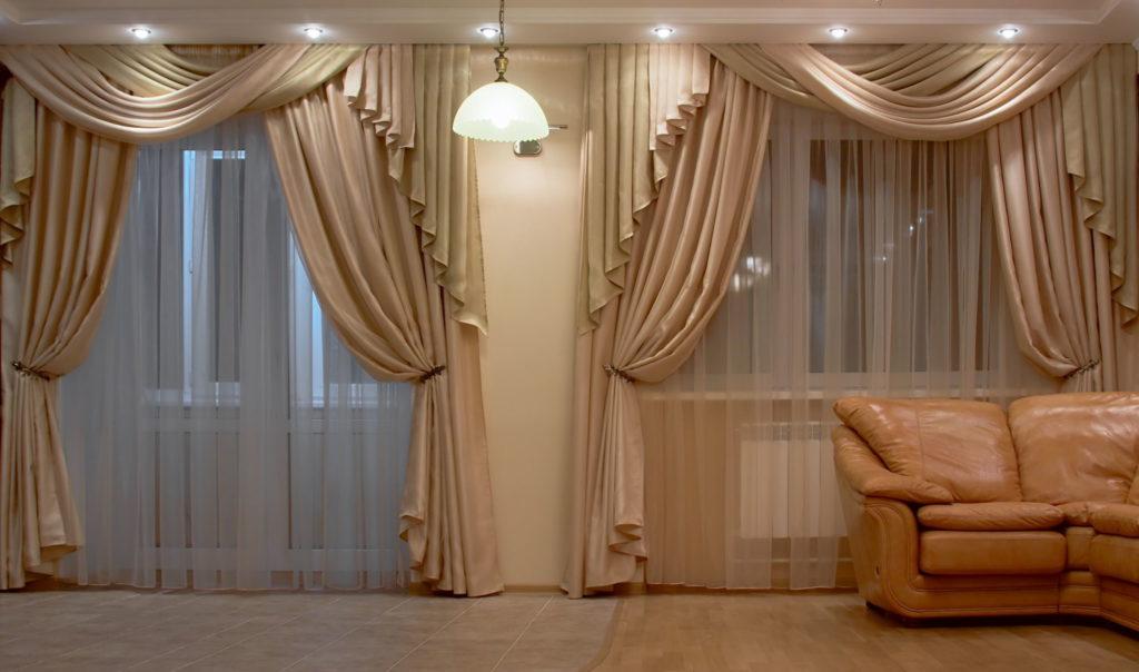 Стоит ли оформлять шторы ламбрекенами