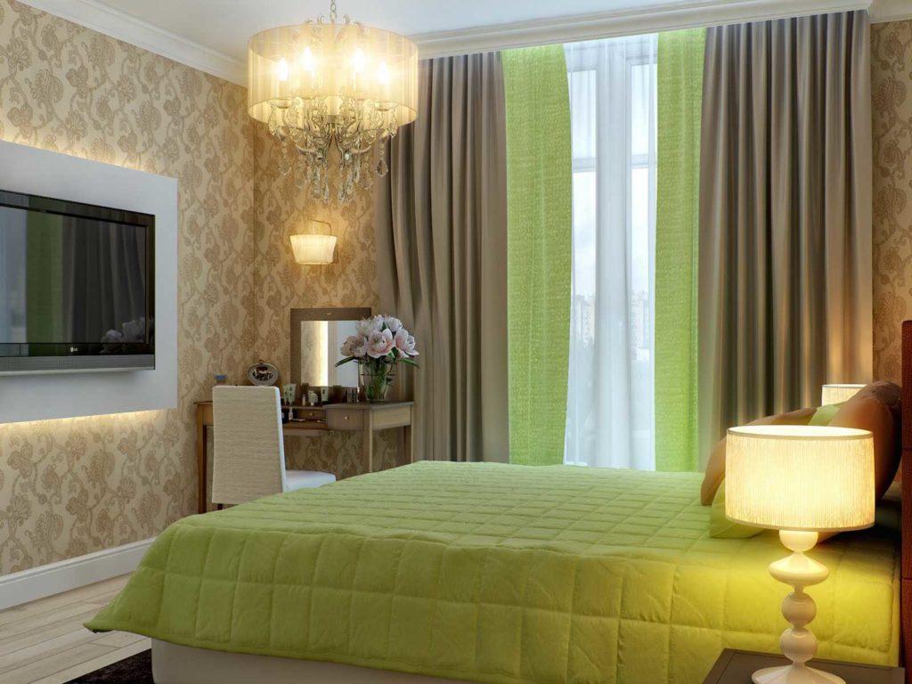 Пять стильных сочетаний цвета для спален
