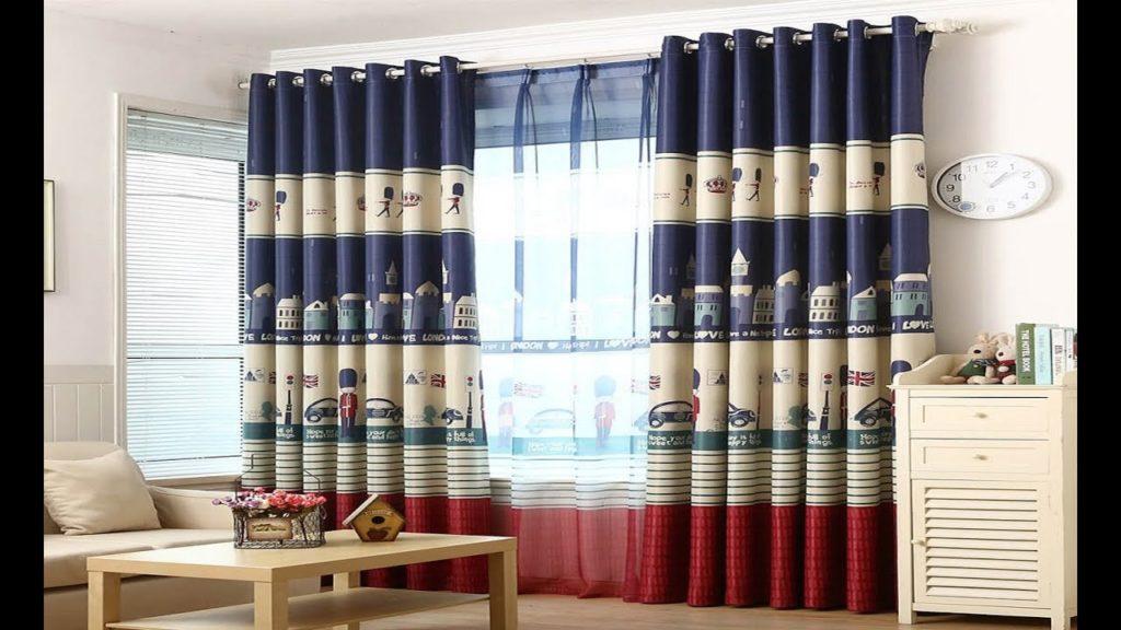 С чем комбинировать шторы из ткани блэкаут
