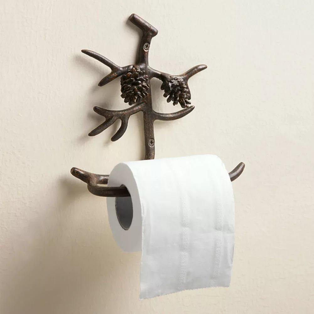 Внимание к мелочам - кованые держатели для туалетной бумаги