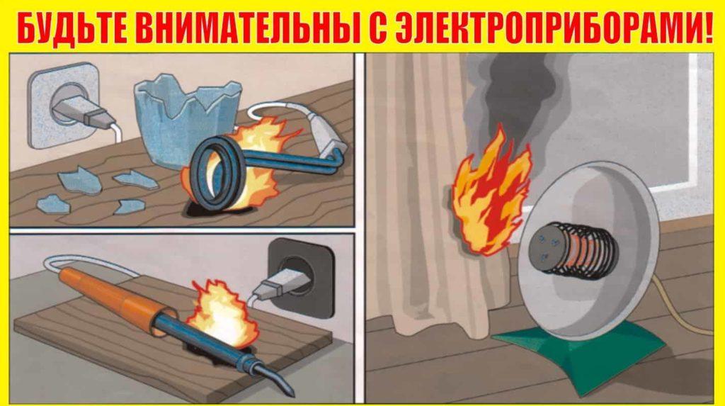 Пожаробезопасность в квартире