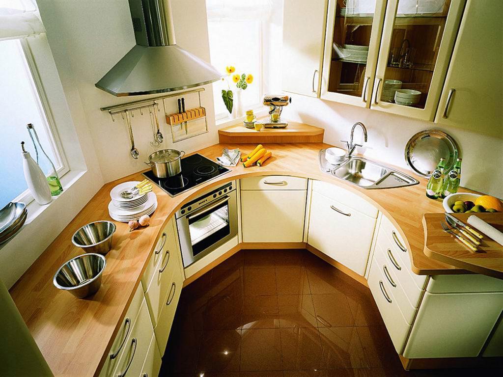 расположение кухонного гарнитура на кухне фото никто