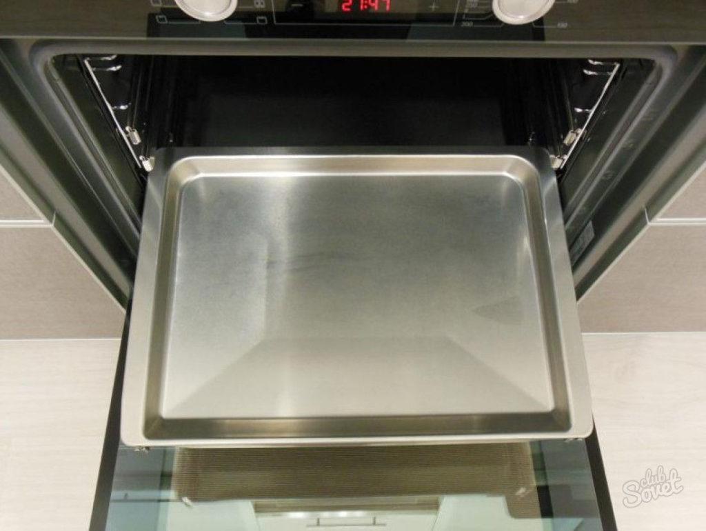 Инструкция по мытью противней для духовки