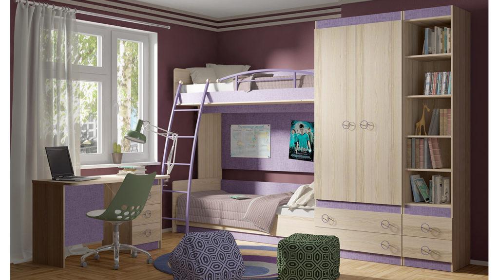 Модульная мебель в детскую комнату
