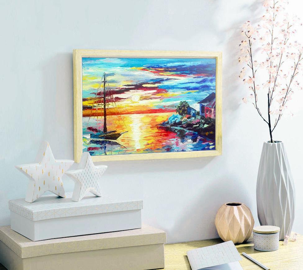 5 советов по уходу за картинами в интерьере