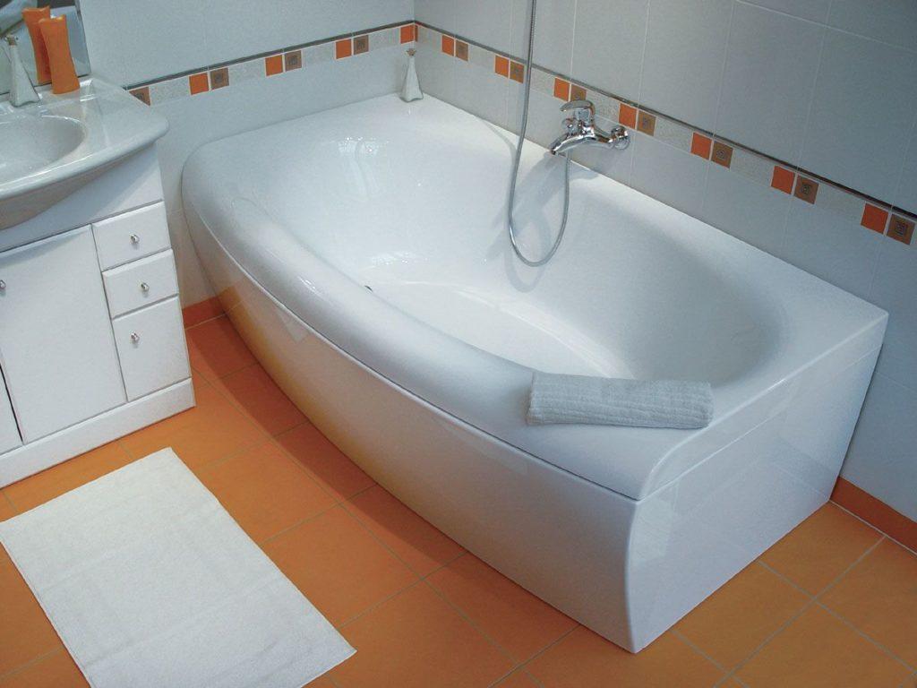 Что такое акриловый вкладыш в ванну