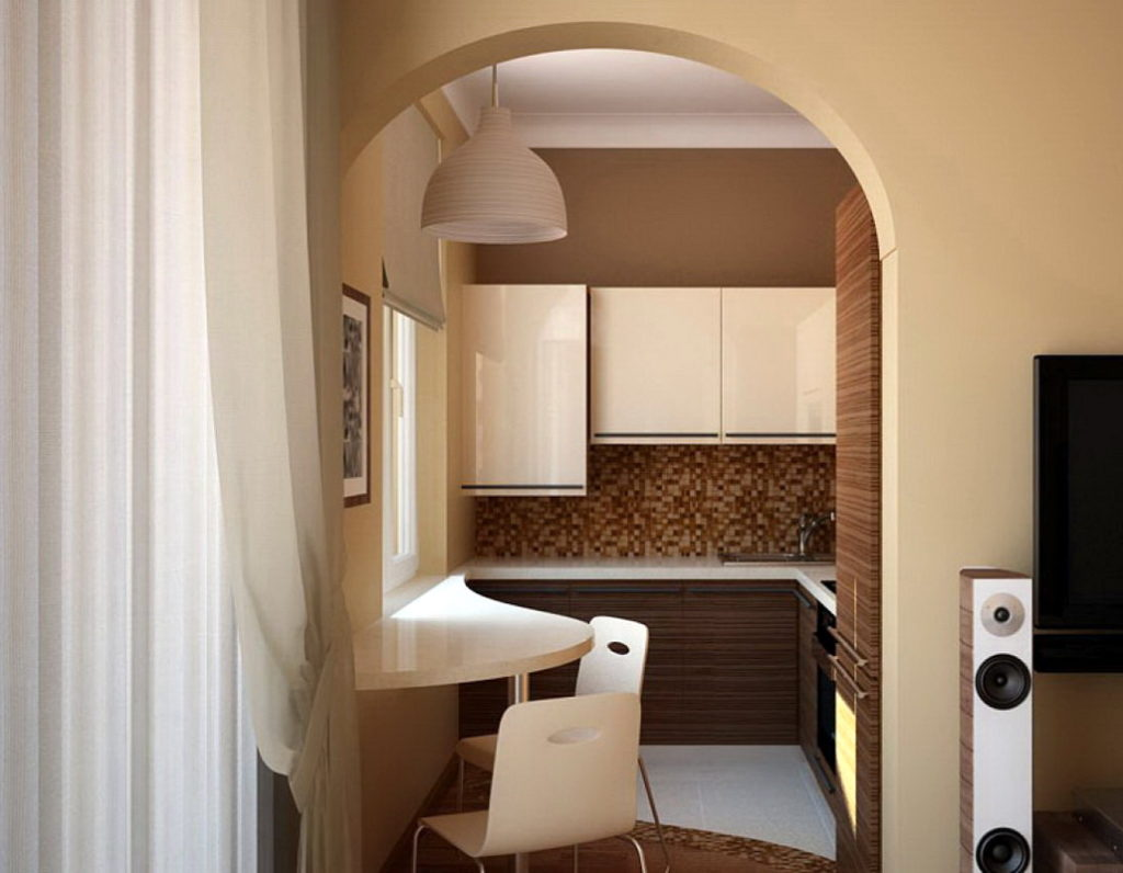 Нужна ли дверь на кухню - достоинства и недостатки