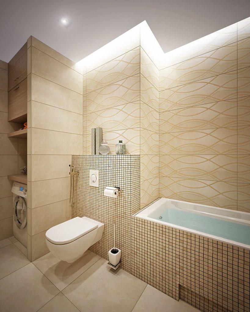 5 идей оформления ванной комнаты в бежевых тонах