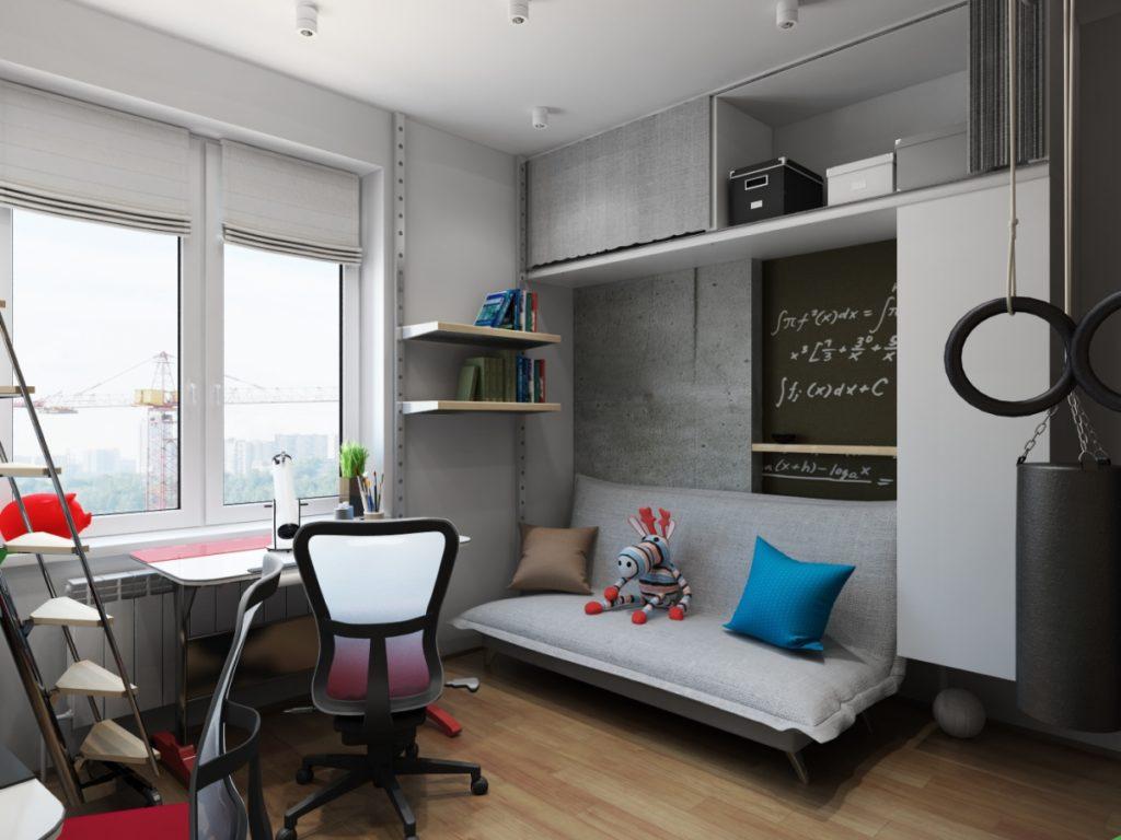 Можно ли использовать серый цвет в интерьере детской комнаты