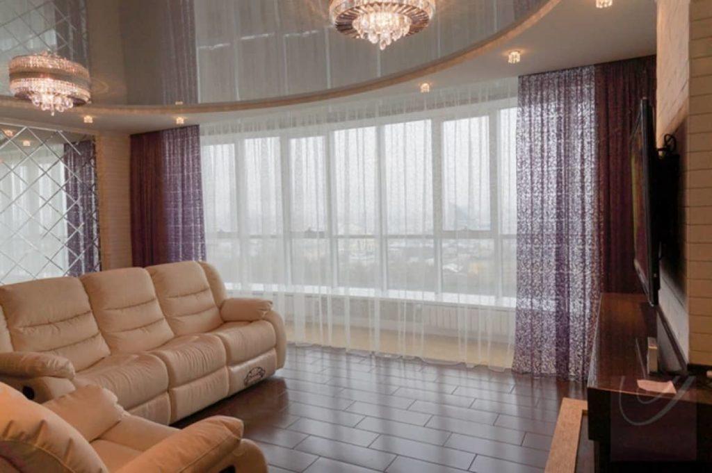 Какие шторы выбрать в гостиную