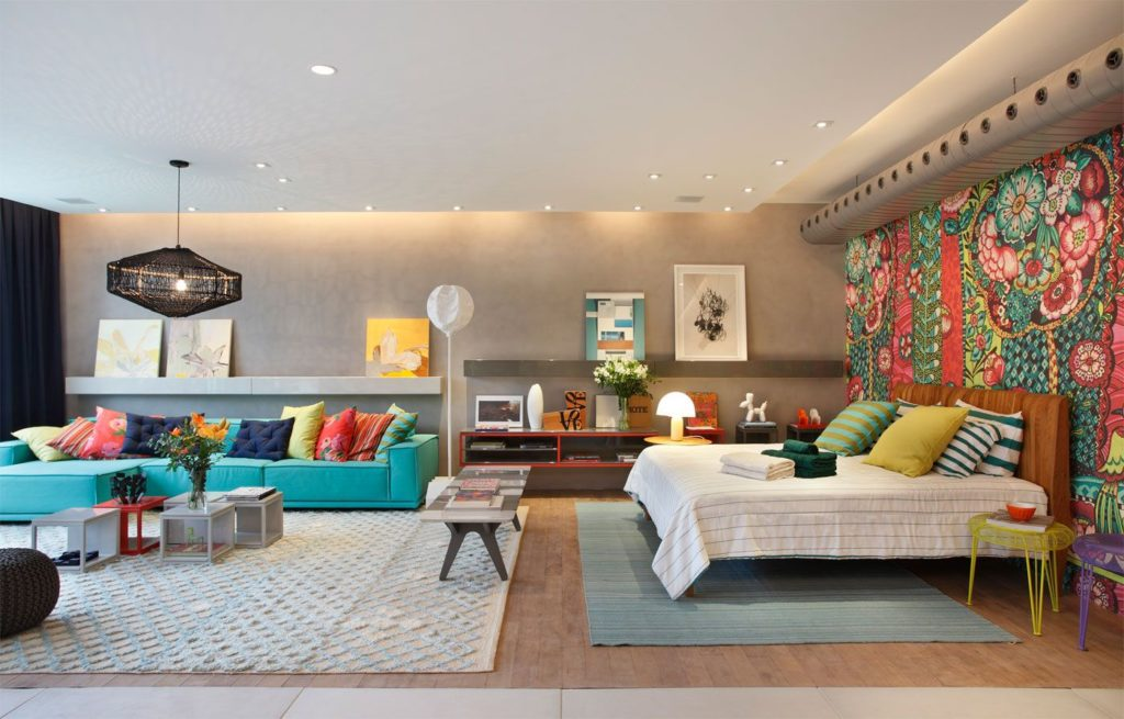 10 способов расставить яркие акценты в интерьере квартиры