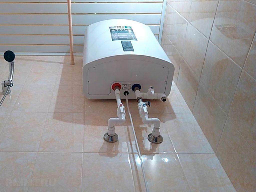 Очищаем электрический водонагреватель от накипи