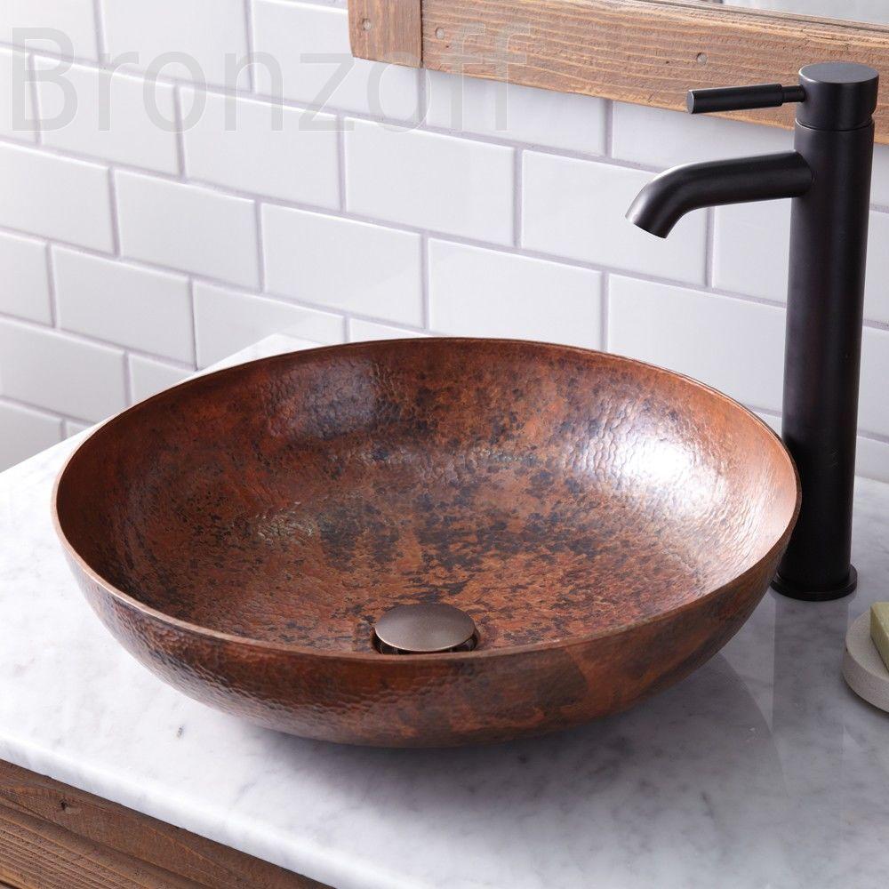 5 причин купить раковину из меди в ванную комнату