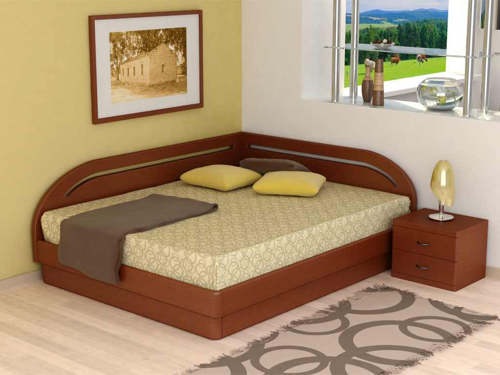 Угловая кровать: за и против