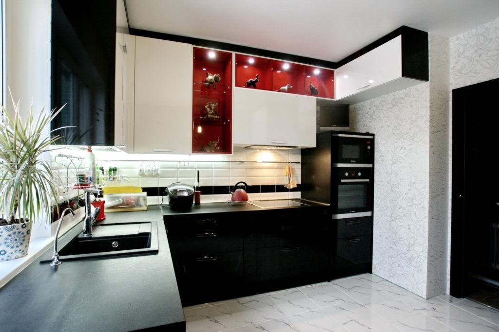 Как удалить загрязнения с кухонного гарнитура