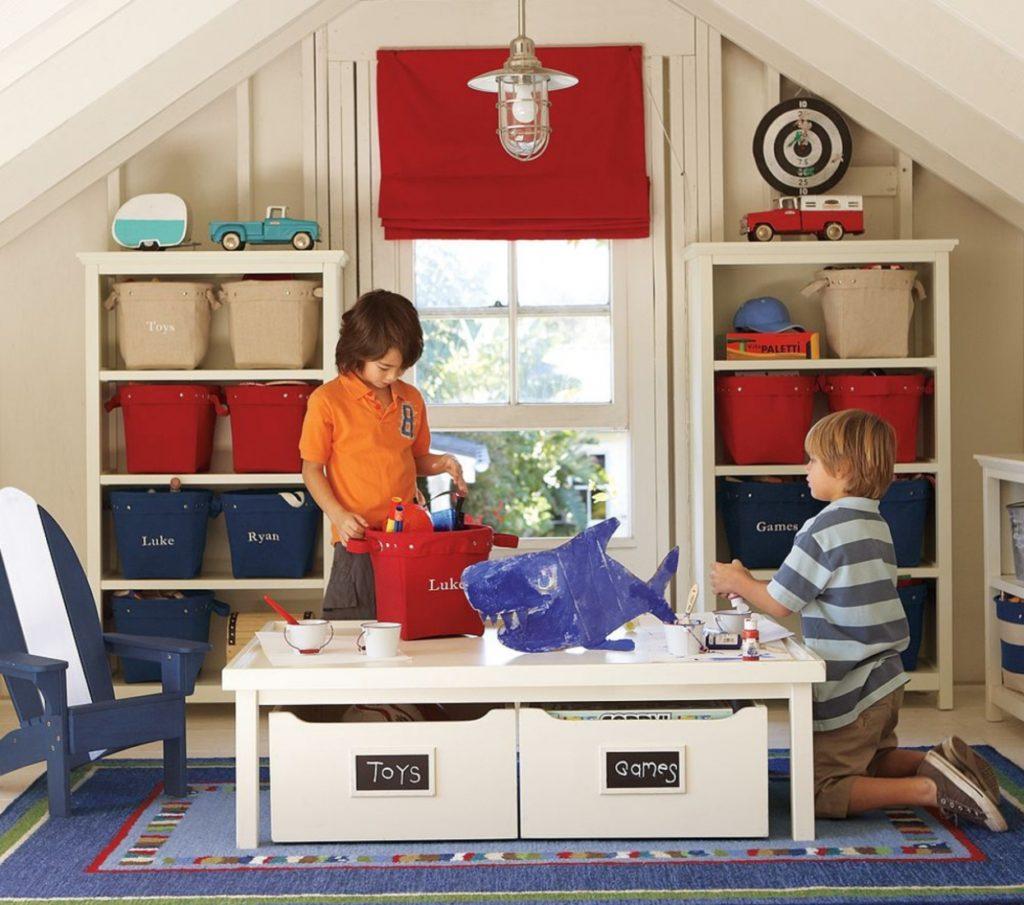 Лучшие советы для хранения детских игрушек