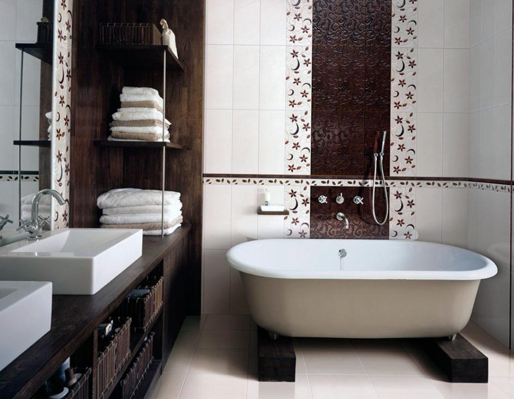 Лучшие материалы для отделки ванной комнаты
