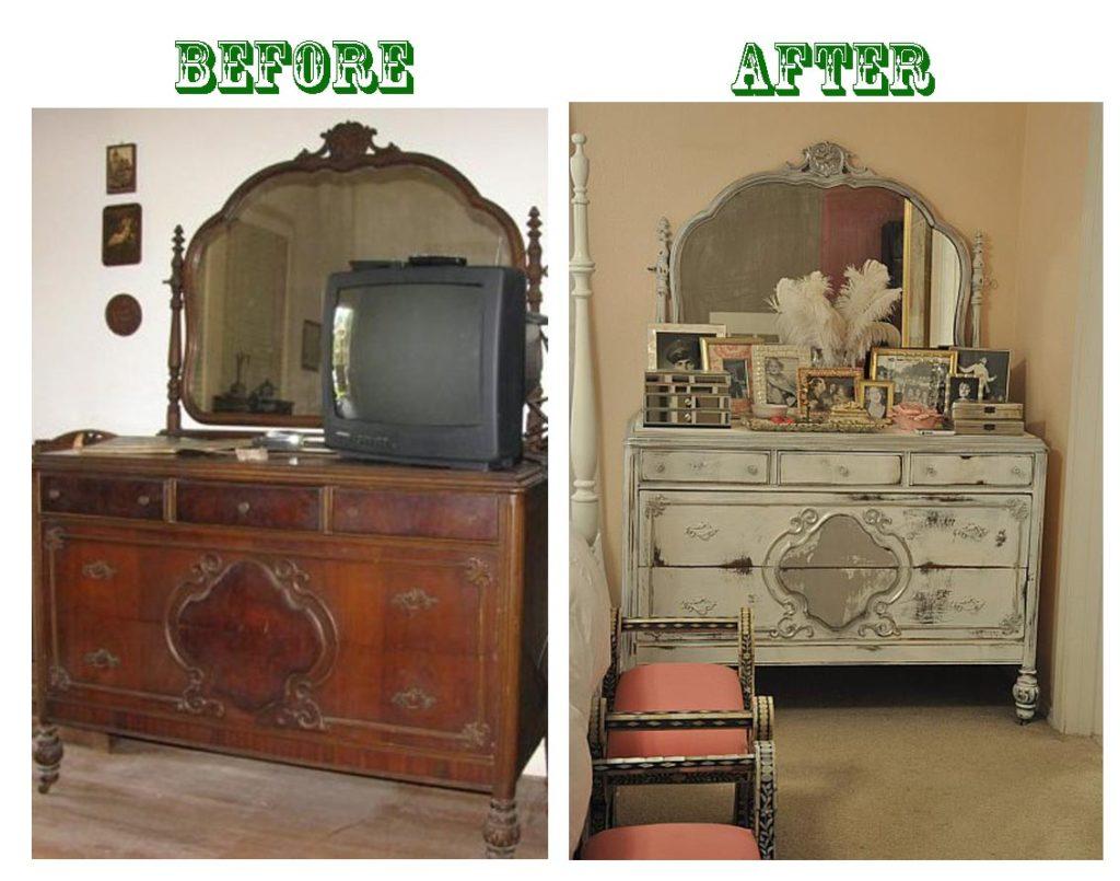 6 идей для преображения старой мебели своими руками