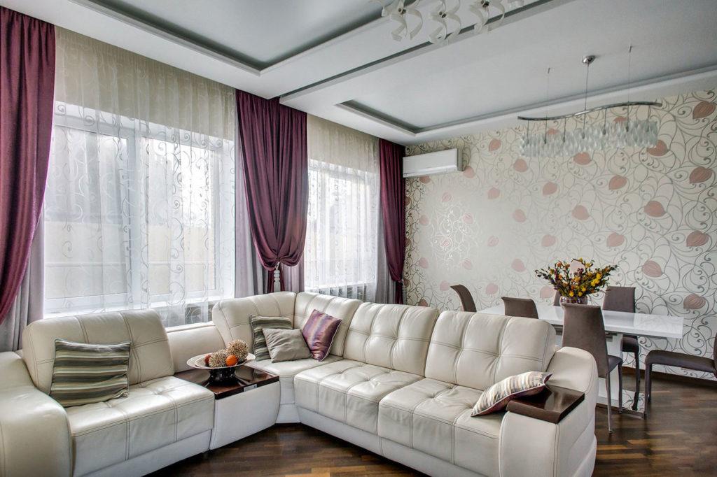 Как подобрать штору в соответствии с типом помещения