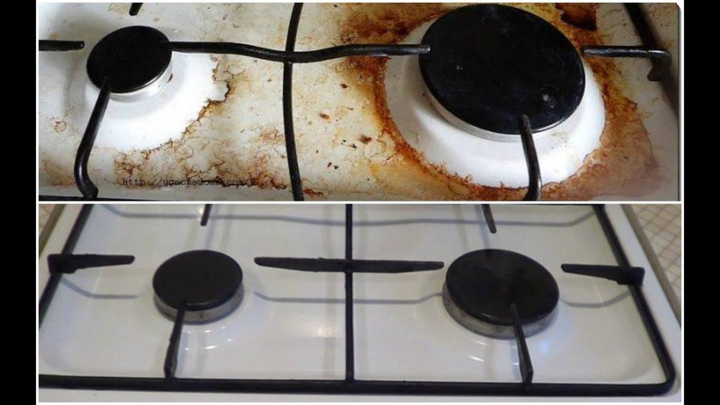 Чем можно легко и быстро отмыть жир и нагар с кухонной плиты