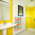5 удачных решений для яркого интерьера ванной комнаты