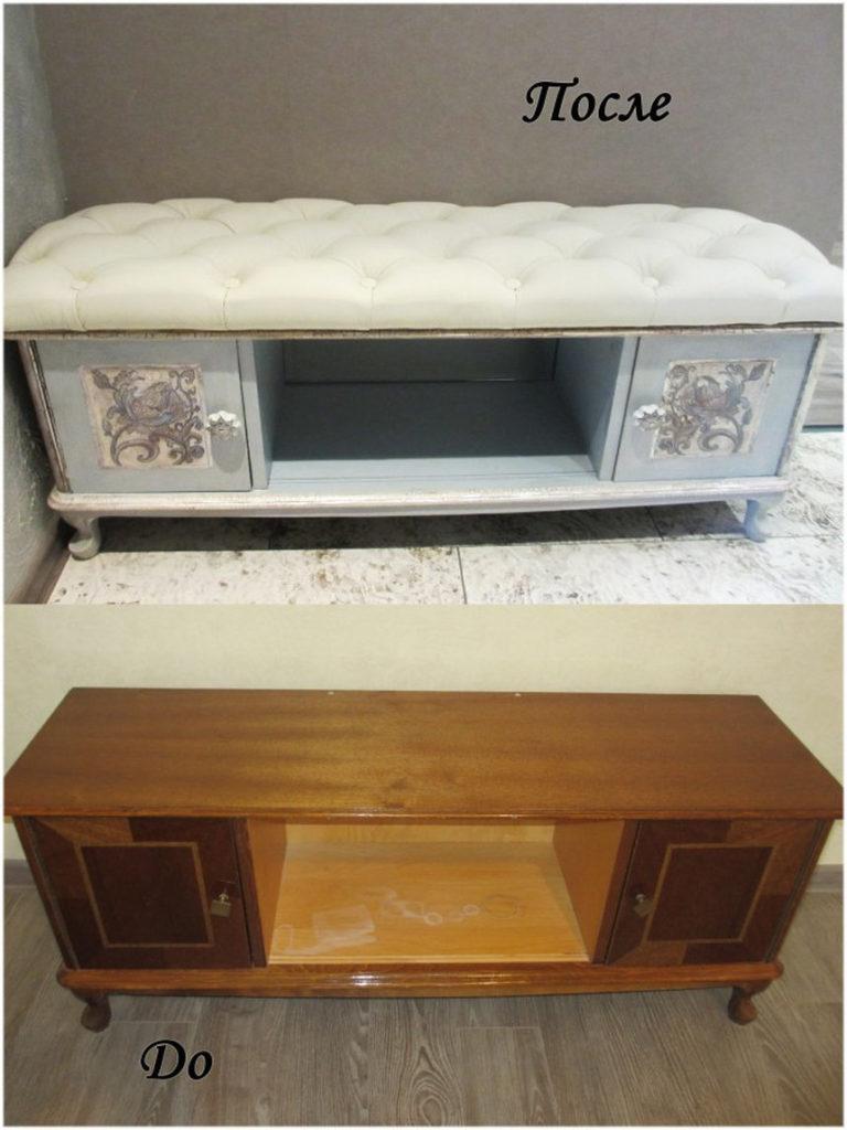 Как отреставрировать старую мебель чтобы она преобразилась