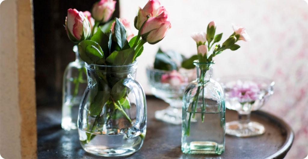 Как продлить срок жизни цветов в вазе