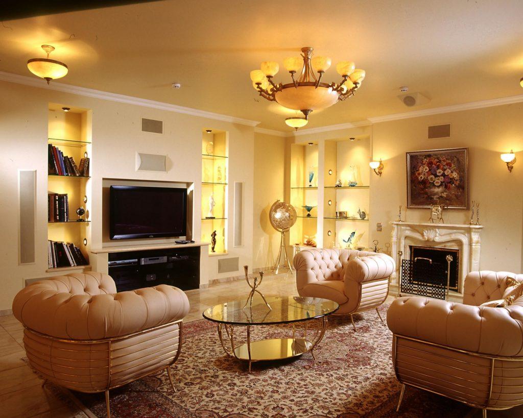 Освещаем гостиную по правилам и канонам дизайна интерьера