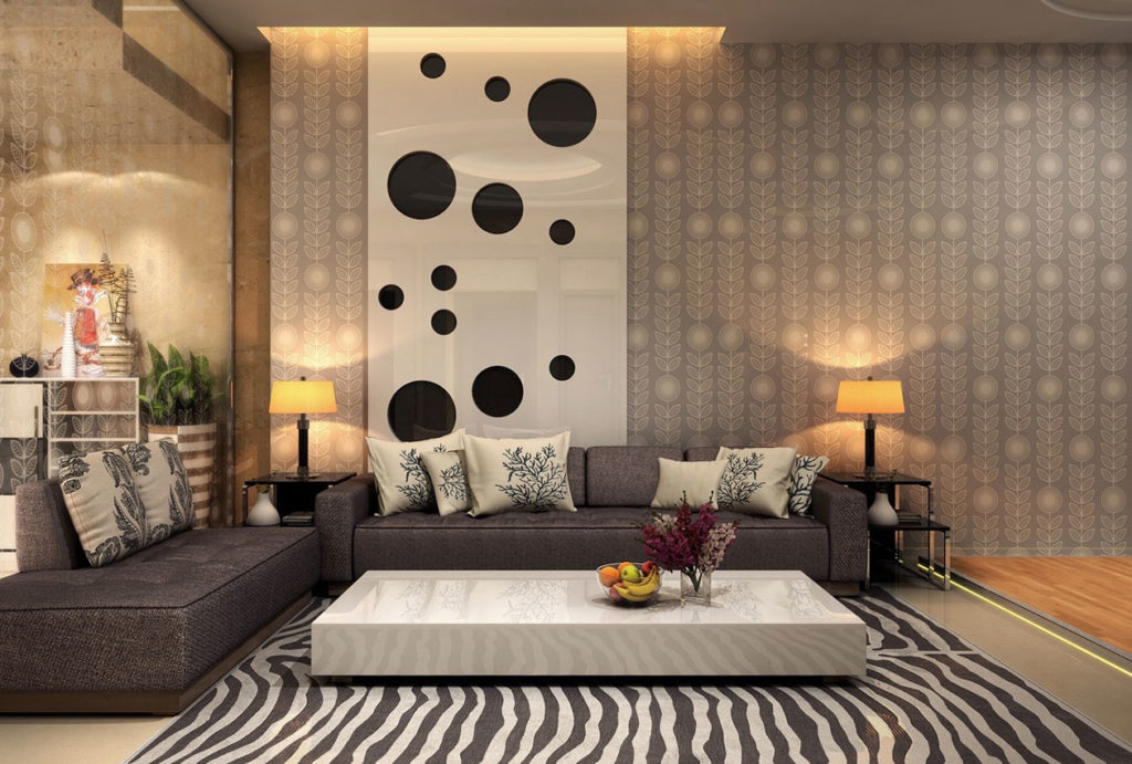 Как подобрать правильный рисунок обоев в квартиру