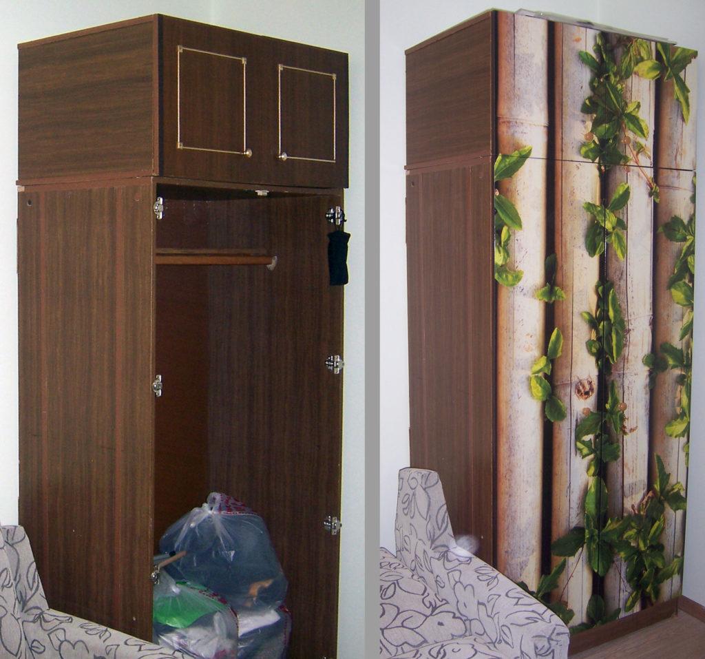 Как обновить старую деревянную мебель своими руками
