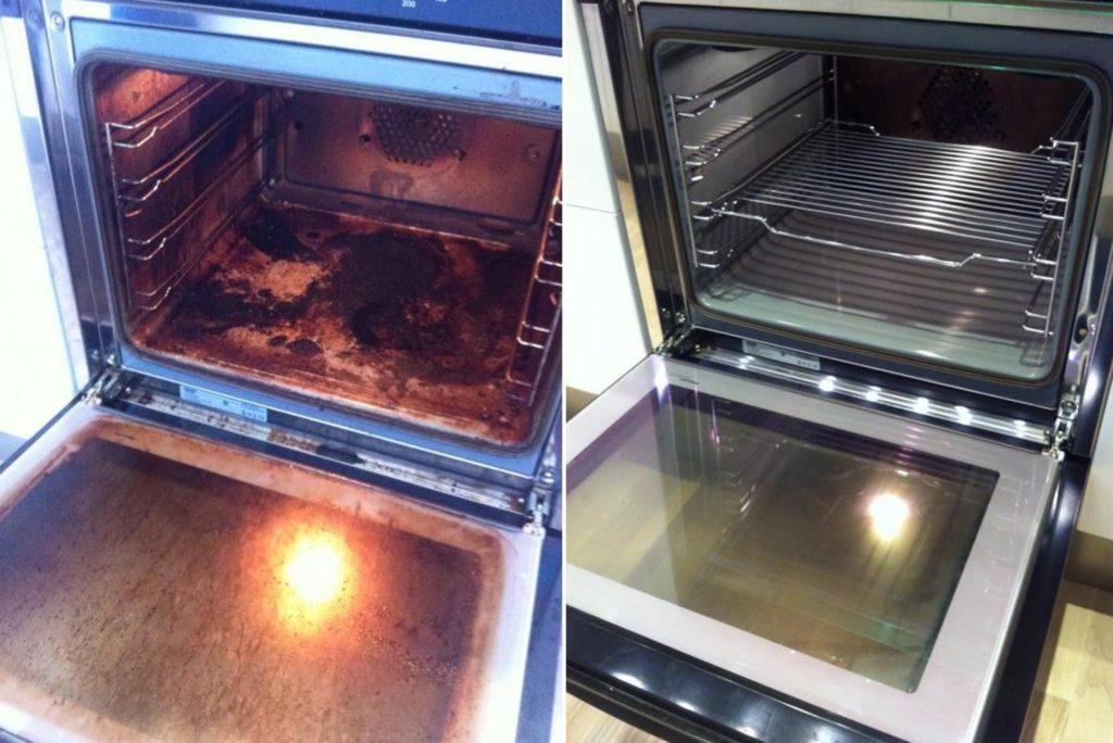 Способы очистки духовки