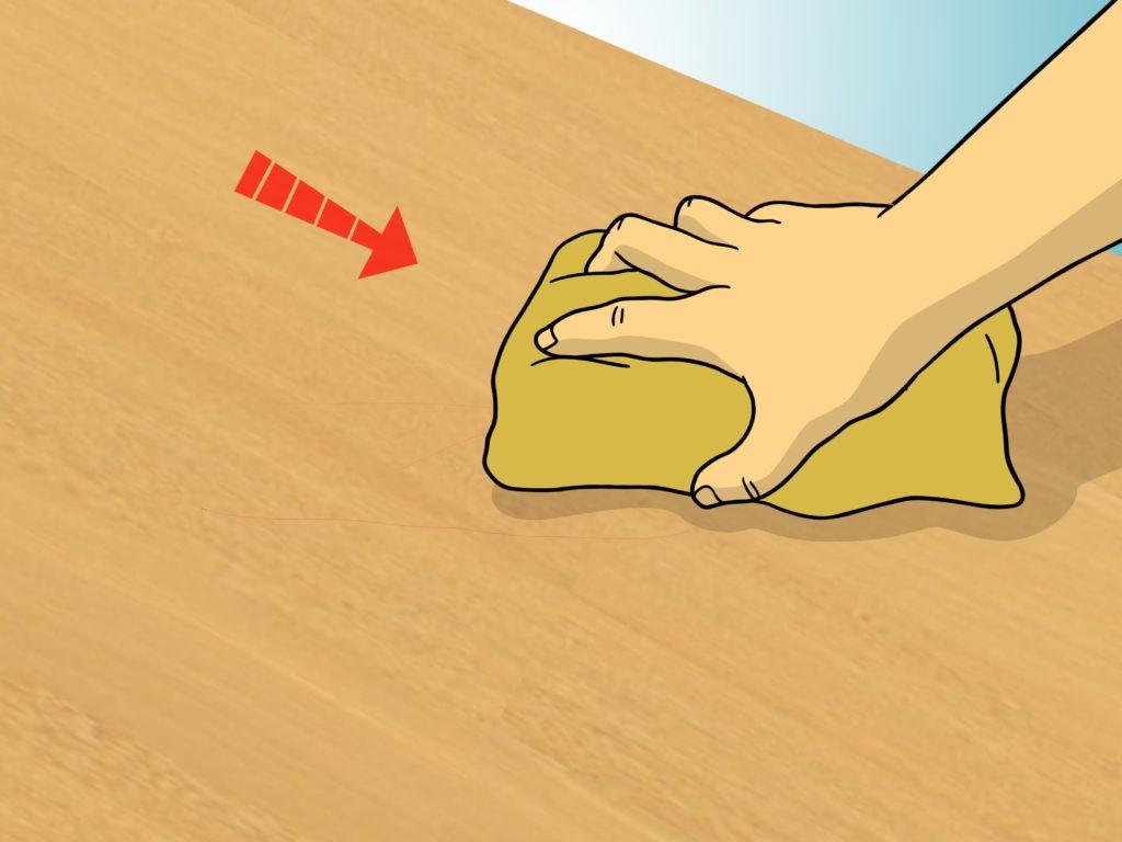 Как бороться с появлением царапин на деревянной мебели