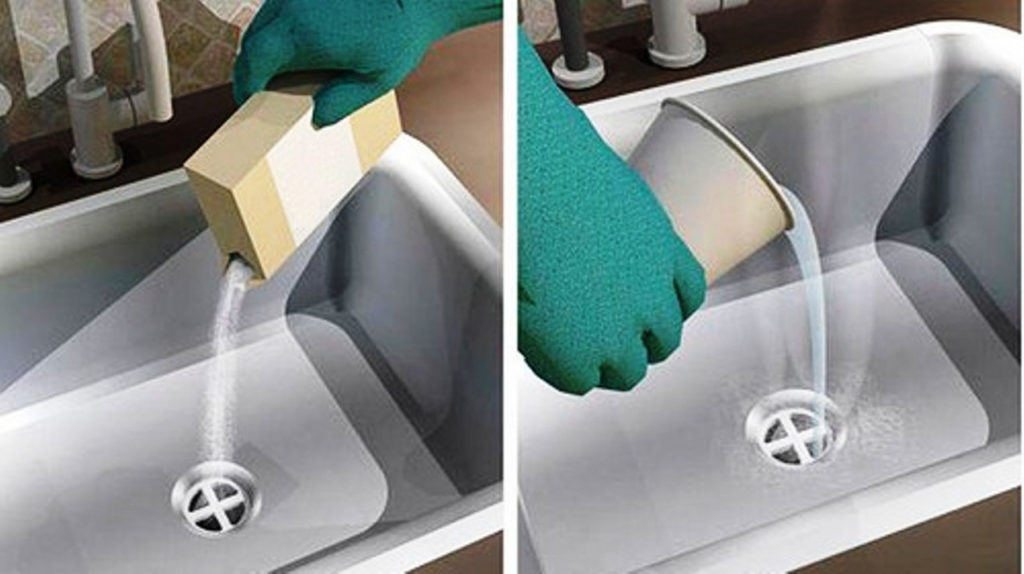 Прочистка канализации каустической содой