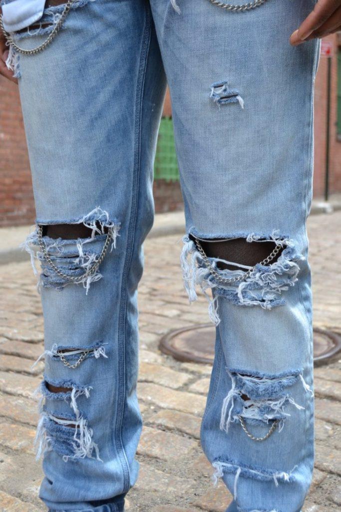 Как осветлить джинсы в домашних условиях