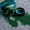 Как вывести зеленку с ковра: чем отмыть застарелые и свежие пятна