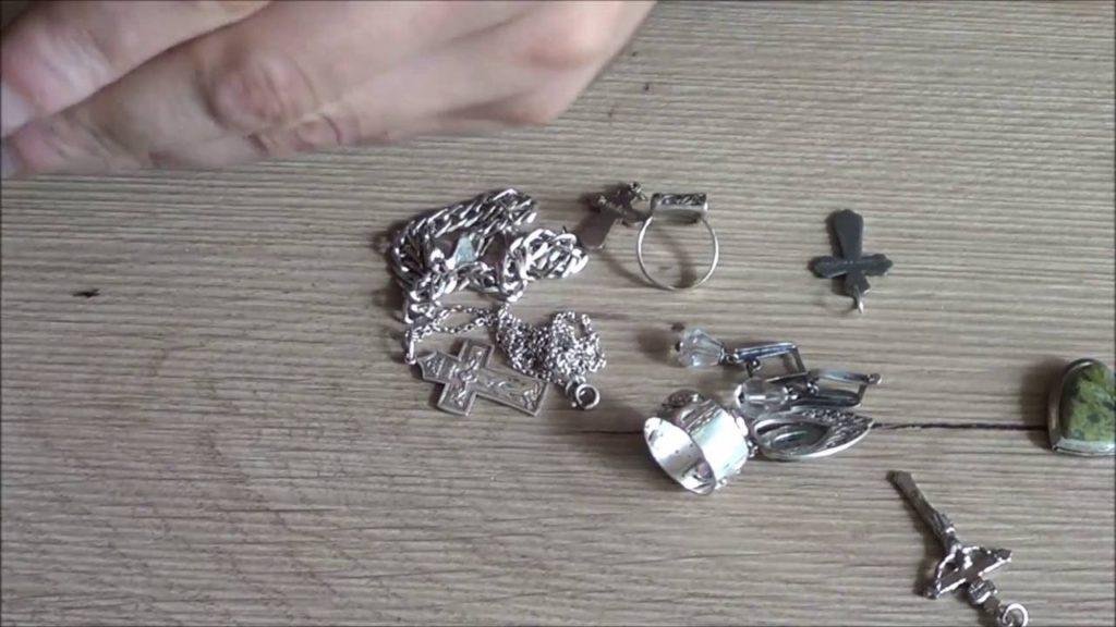 Как почистить серебро перекисью водорода в домашних условиях